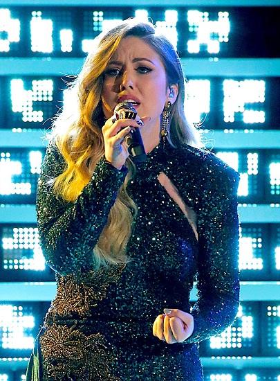 Maelyn Jarmon - quán quân The Voice US 2019. Ảnh: NBC.