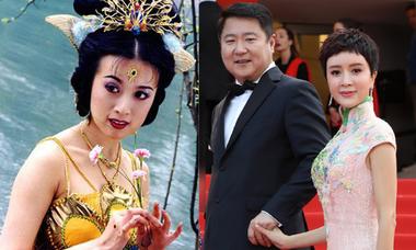 Sao 'Tây du ký' sánh vai chồng đại gia trên thảm đỏ Cannes