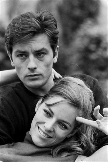 Alain và vợ Nathalie, khi còn hạnh phúc bên nhau. Ảnh: Pinterest.
