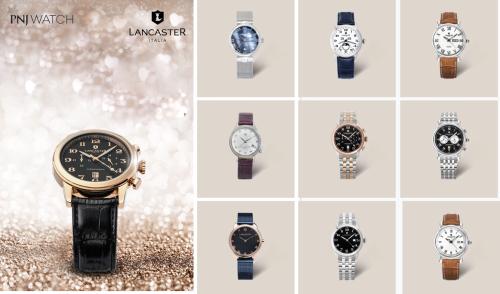 Theo đại diện thương hiệu, hãngđồng hồ nổi tiếng Italia Lancaster được phân phối độc quyền tại PNJ Watch.
