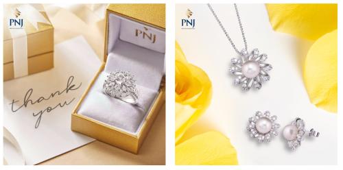 Ưu đãi đến 5% cho trang sức vàng và kim cương Cùng nằm trong không gian mua sắm mới, PNJ Gold dành tặng Khách hàng khi đến cửa hàng Quang Trung - Gò Vấp ưu đãi hấp dẫn 5% khi mua trang sức Ý và 3% đối với Kim cương.
