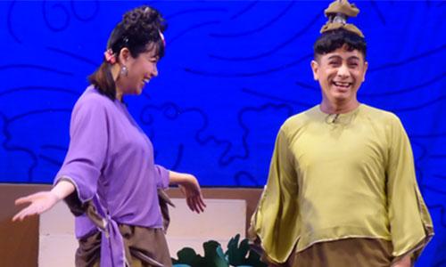 Lê Khánh (trái) và Đinh Toàn