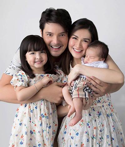Mỹ nhân đẹp nhất Philippines cảm thấy viên mãn khi làm mẹ