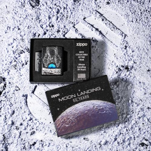 Bộ sưu tập của năm 2019 được Zippo dành riêng để kỷ niệm 50 năm lần đầu tiên đầu tiên con người đặt chân lên mặt trăng.