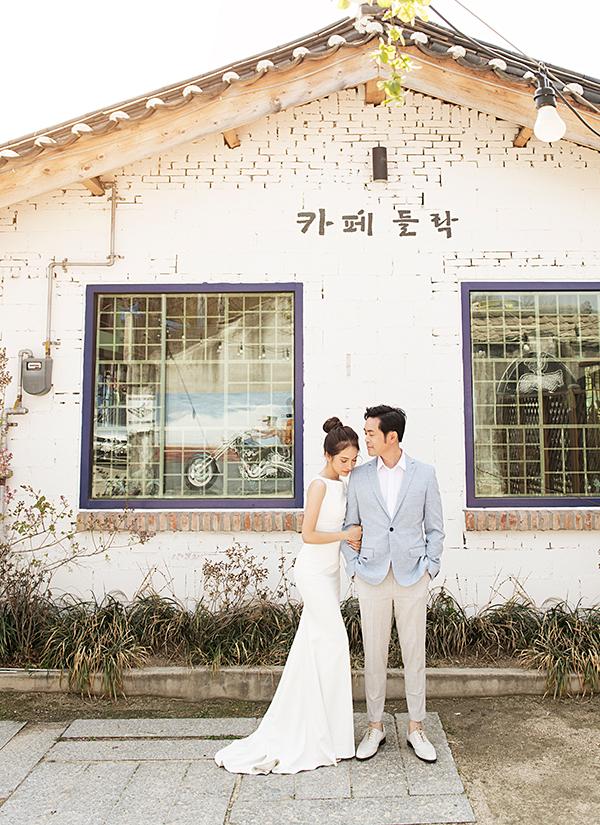 Dương Khắc Linh chụp ảnh cưới ở Hàn Quốc