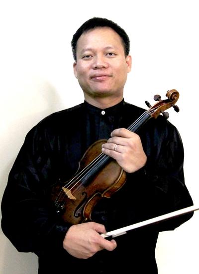 Nghệ sĩ violin Vũ Việt Chương.