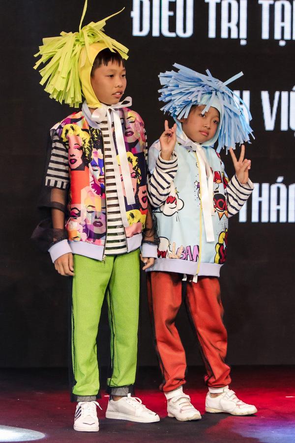 25 bệnh nhi ung thư trình diễn thời trang tại Sài Gòn