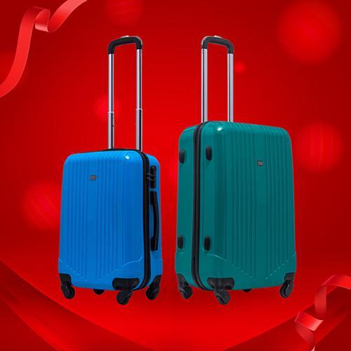 Dòng vali kéo nhựa SB1857 đến từ thương hiệu Santa Barbara đang có giá ưu đãi 799.000 đồng tại LUG.vn. Sản phẩm nổi bậtvới vẻ ngoài chắc chắn, thanh lịch, đường vân sọc basic đơn giản nhưng khônglỗi mốt. Ngoài ra, việc sắp xếp đường vân tạo thành bề mặt không bằng phẳng sẽ giúp chiếc vali củahạn chế lực tác động khi va đập. Dòng sản phẩm mang đến nhiều lựa chọn màu sắc cho người dùng nhưxanh ngọc bích, đen, đỏ, xanh royal, xanh navy.