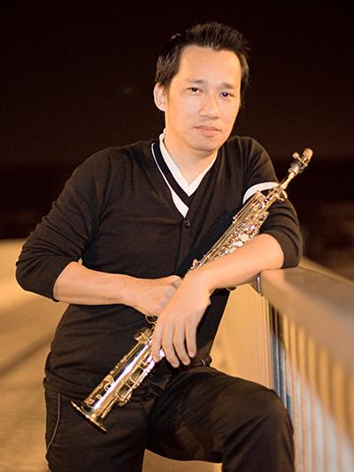 Nghệ sĩ saxophone Xuân Hiếu.