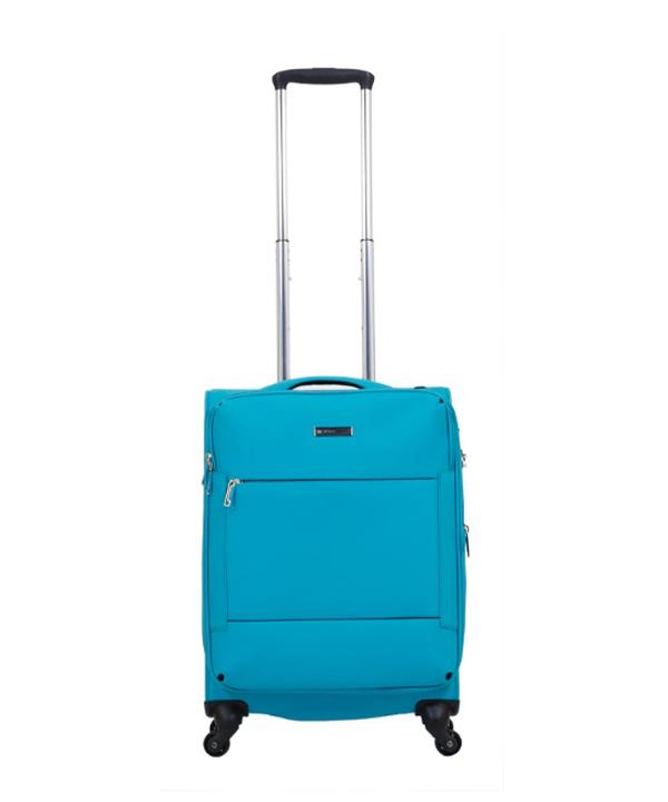 Vali vải có thể nới rộng không gian ra dễ dàng.