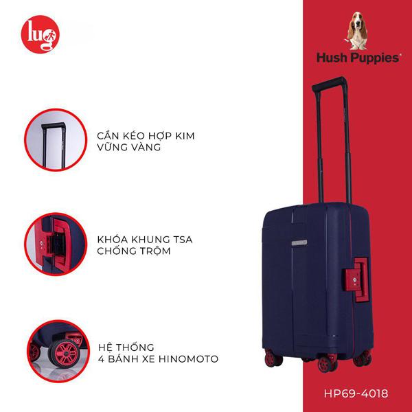 Cần kéo, ổ khóa, bánh xe là những chi tiết quan trọng của một chiếc vali, cần được kiểm tra kỹ khi mua.