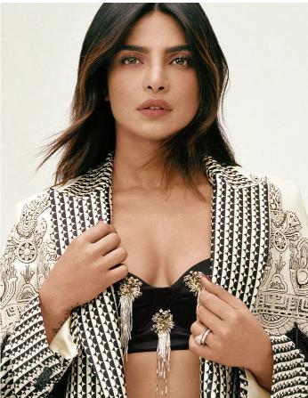 Priyanka Chopra chụp ảnh cho tạp chí InStyle.