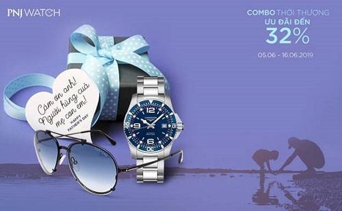 PNJ Watch ưu đãi tới 32% khi mua đồng hồ mừng Ngày của Cha