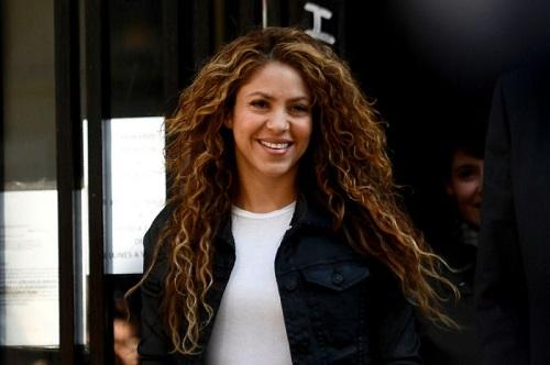 Shakira có mặt tại phiên tòa xét trước đó hồi tháng 3. Ảnh: Yahoo News.