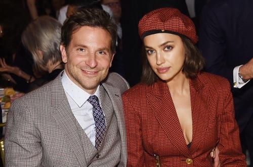 Tài tử Bradley Cooper và siêu mẫu Irina Shayk. Ảnh: Page Six.