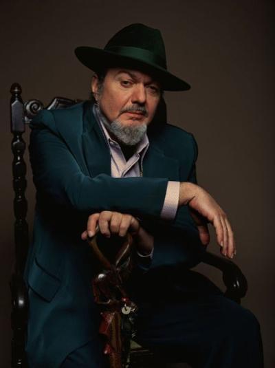Danh ca người Mỹ - Dr. John. Ảnh: Jazziz Magazine.