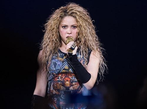 Nữ ca sĩ Shakira. Ảnh: Times.