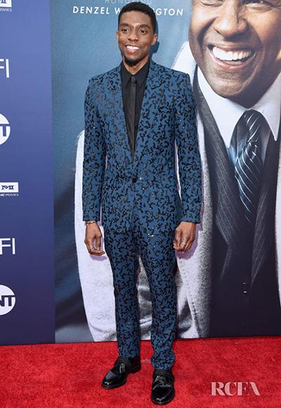 Diễn viên Chadwick Boseman.