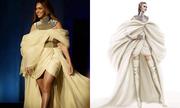 Beyonce diện đầm Phương My ở lễ trao giải tại Mỹ