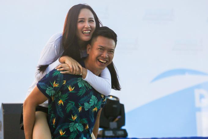 Mai Phương Thúy, Hồ Đức Vĩnh sẵn sàng cho giải VnExpress Marathon