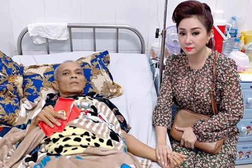 Nghệ sĩ Thoại Mỹ thăm bệnh Phương Tần những ngày cuối đời của anh.