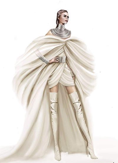 Nhà thiết kế Phương My cho biết sau khi ra mắt bộ sưu tập Thu Đông 2019 ở New York Fashion Week hồi tháng 2 và bộ sưu tập váy cưới vào tháng 4, cô có nhiều cơ hội tiếp xúc với các khách hàng quốc tế. Ê-kíp của Beyonce đặt Phương My thiết kế trang phụccho lễ trao giải này.Họ yêu cầu thực hiện cả trang phục lẫn phụ kiện chỉ trong một tuần, nhà thiết kế nói.