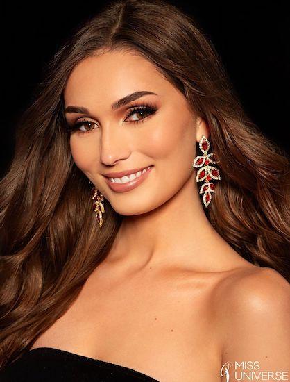 Katja Stokholm – người đẹp mang hai dòng máu Đan Mạch và Nga. Ảnh: Miss Universe.
