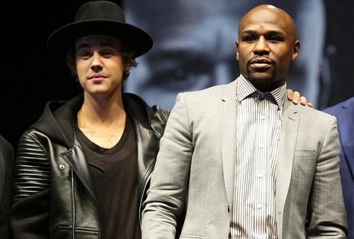 Justin Bieber từng học quyền Anh với võ sĩ Floyd Mayweather. Ảnh: Billboard.