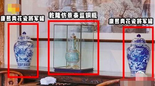 Một số bình cổ của Vương Cương.