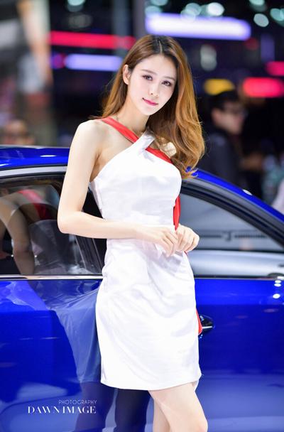 Trương Hinh Nguyệt - bạn gái mới của Lâm Phong. Ảnh: Dawn.