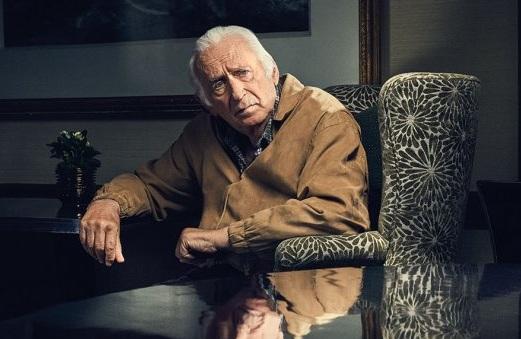 Carmine Caridi - người từng đóng trong The Godfather phần hai và ba. Ảnh: Hollywood Reporter.