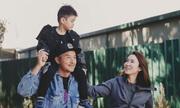 Vợ chồng Phạm Văn Phương du lịch cùng con trai 5 tuổi