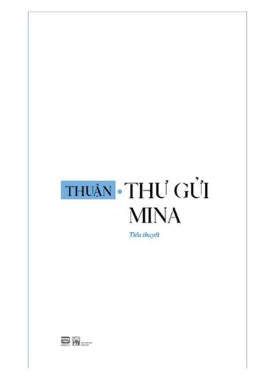 Bìa sách Thư gửi Mina. Phanbook và NXB Phụ Nữ ấn hành, 2019.