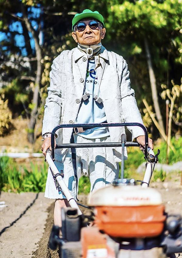 Phong cách 'dân chơi' của cụ ông Nhật Bản 84 tuổi