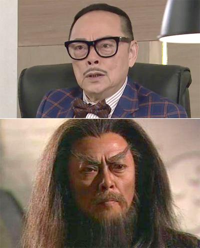 La Lạc Lâm trong các phim hiện đại, cổ trang của TVB.
