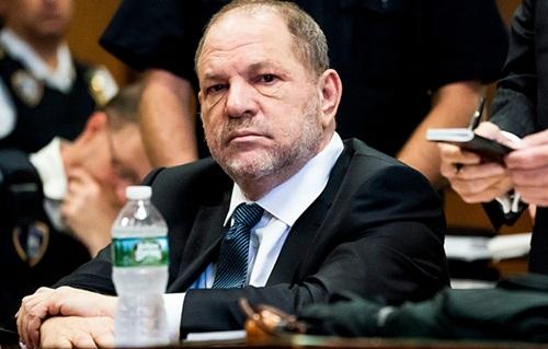 Nhà sản xuất phim Harvey Weinstein. Ảnh: Rex.
