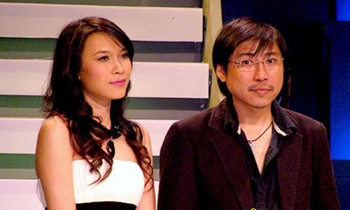 Mỹ Tâm và Huỳnh Phúc Điền trong một sự kiện.