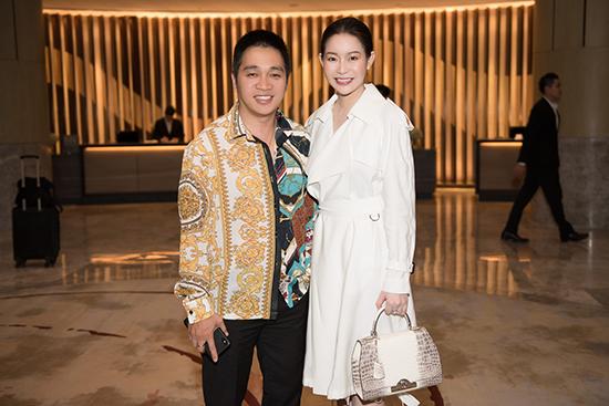 Hoa hậu Hải Dương diện set đồ triệu USD đi sự kiện - 1