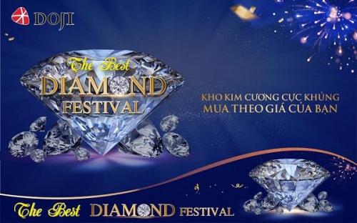 The Best Diamond Festival trở thành đại lễ hội kim cương nhờ hàng loạt chính sách ưu đãi hấp dẫn.