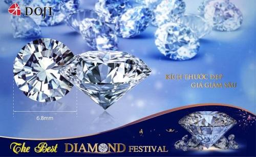 List kim cương kích thước đẹp được DOJI cập nhật liên tục, mức giảm giá hấp dẫn là cơ hội lý tưởng cho khách hàng trải nghiệm, lựa chọn kim cương chưa bao giờ dễ dàng đến vậy.