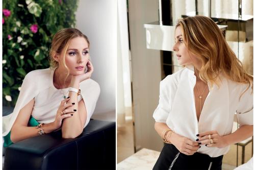 Olivia Palermo quyến rũ, nữ tính khi đeo Piaget Possession