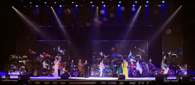Dàn ca sĩ ôn kỷ niệm 10 năm ngày Huỳnh Phúc Điền mất