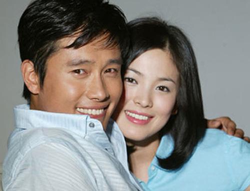 Song Hye Kyo và Lee Byung Hun. Ảnh: Newsen.