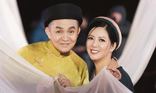Đinh Hiền Anh và Xuân Hinh.