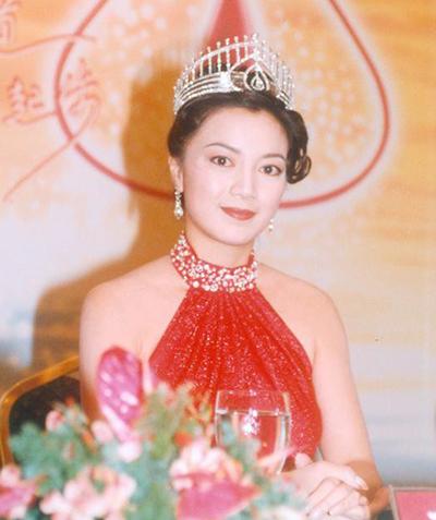 Hoa hậu Hong Kong Dương Uyển Nghi. Ảnh: Chinatimes.
