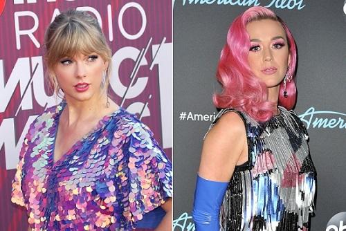 Năm 2013, Katy thuê ba vũ công đang đi tour cùng Taylor khiến những người này bỏ việc. Theo Rolling Stone, Taylor nói ca khúc Bad Blood viết về một nữ ca sĩ nhạc Pop đã chơi xấu cô. Cô ta muốn phá hỏng tour diễn của tôi bằng cách dùng tiền để các đồng nghiệp bỏ tôi, ca sĩ nói. Người hâm mộ nghi ngờ người Taylor ám chỉ là Katy Perry. Ít giờ sau khi bài phỏng vấn được đăng tải, Katy đăng dòng trạng thái trên Twitter: Hãy cẩn thận với những con sói đội lốt cừu.Đáp trả lại MV Bad Blood của Taylor, năm 2017, Katy cùng rapper Nicky Minaj phát hành ca khúc Swish Swish. Tờ Rolling Stone phân tích tên bài hát liên tưởng đến tiếng động của loài rắn (biểu tượng của Taylor). Lời bài hát cũng có nhiều đoạn gợi nhớ đến mâu thuẫn giữa hai người. Năm 2018, cặp sao dần hòa giải sau khi Katy xin lỗi Taylor qua mạng xã hội. Bổ sung thông tin mới đây họ là hòa thế nào