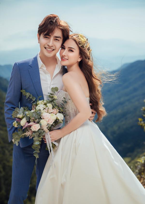 Thu Thủy và bạn trai kém 10 tuổi chụp ảnh cưới ở Đà Lạt