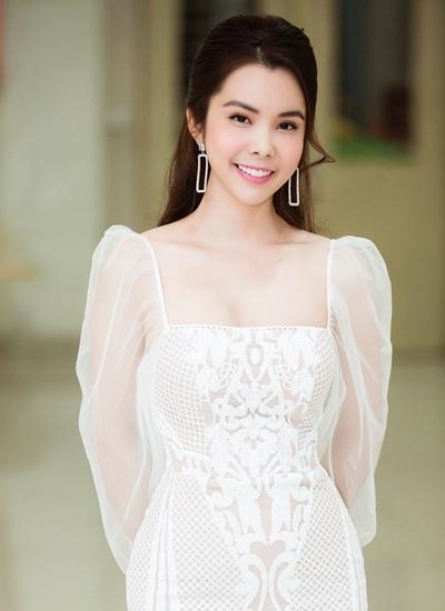 Người mẫu Huỳnh Vy.
