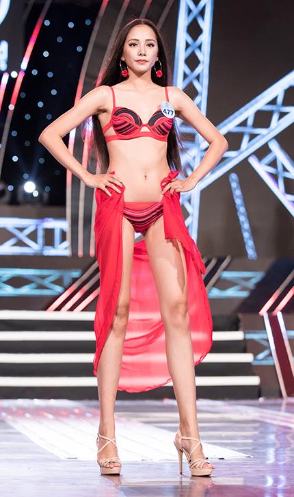 Nguyễn Thị Bích Thùy sinh năm 2001, là một trong số những thí sinh trẻ nhất cuộc thi. Cô đến từ Đăk Lăk.