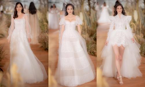 Đầm cưới tay bồng của những thập niên cũ.